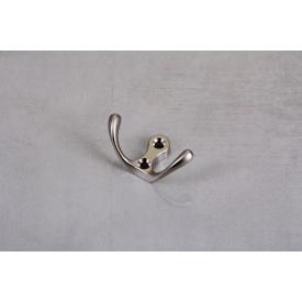 Мебельный крючок GTV К24-С0 двойной сатин
