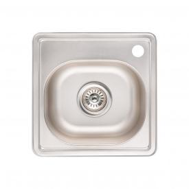 Кухонная мойка Lidz 3838 0,6 мм Micro Decor (LIDZ3838MDEC06)