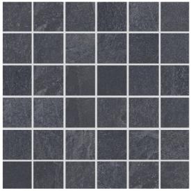 Aquaviva Мозаика для бассейна Aquaviva Ardesia Black 300x300x9 мм