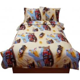 Комплект постельного белья Руно бязь GBL-0669 yellow полуторный