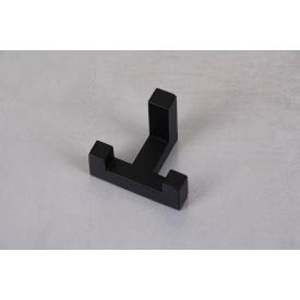 Мебельный крючок GTV К2202 двойной черный