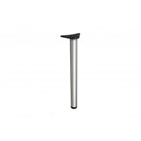 Нога мебельная GTV A 6 с регулировкой 710 мм хром матовый