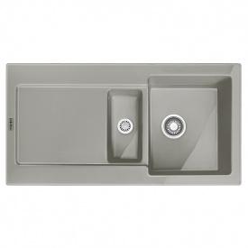 Мойка керамика Fraceram MRK 651-100 серый матовый Franke (124.0380.251)