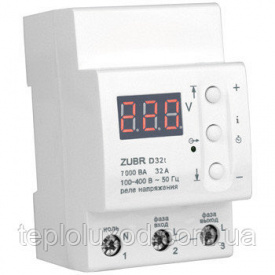 Реле контролю напруги ZUBR D32t