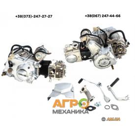 Двигатель на мопед Delta/Alpha 70cc механическое сцепление Слон