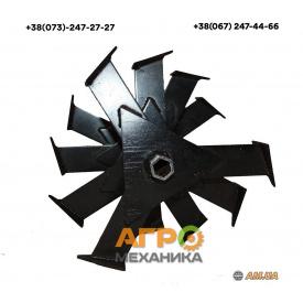 Фреза шестигранная для мотоблока Zirka 23 мм 4 с. (ФР5)