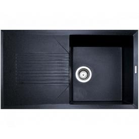 Кухонна мийка Adamant NOVAK 860х500х240, з сифоном, 13 графіт