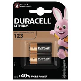 Батарейки DURACELL CR 123 упаковка 2 шт
