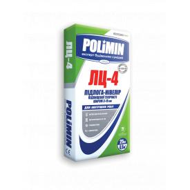 Пол-нивелир повышенной текучести слоем 3-15 мм POLIMIN ЛЦ-4 ПОЛ-нивелир 25кг