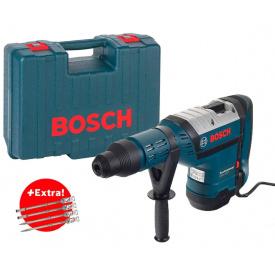 Перфоратор Bosch Professional GBH 8-45 DV в чемодане с 4 зубилами SDS-Max