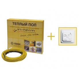 Нагревательный кабель In-Therm 92 м - 9,2 м2 - 11 м2 - 1850 Вт