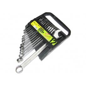 Набір ключів рожково-накидних 12 шт Alloid НК-1061-12