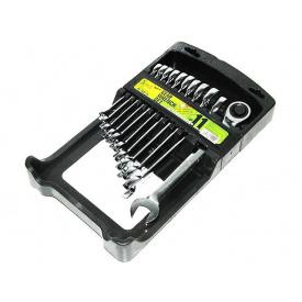 Набір ключів рожково-трещеточний 11 шт 8-19 мм ALLOID НК-2081-11