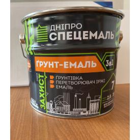 Грунт-Емаль 3в1 Дніпроспецемаль білий 0,9 кг