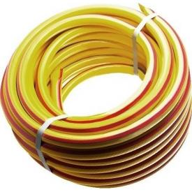 Шланг поливочный Evci Plastik Райдуга Sunny желтый 3/4 дюйма длина 50 м