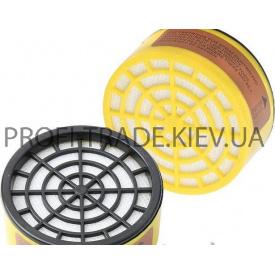 91-130 Газовый фильтр для респиратора (кислотный круглый)
