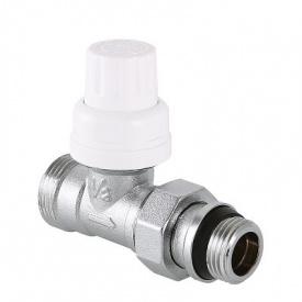 Клапан термостатичний з напівсгоном перехід на євроконус 1/2x3/4 Valtec VT.032.NER.04