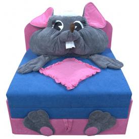 Детский диванчик малютка Ribeka Мышка (24M13)