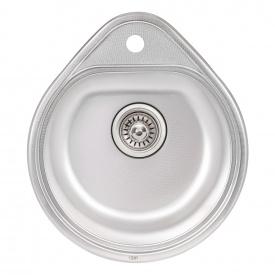 Кухонная мойка Qtap 4450 0,8 мм Micro Decor (QT4450MICDEC08)