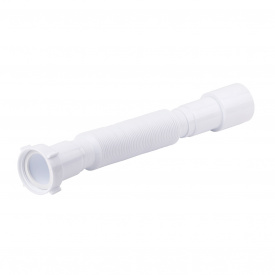 """Гибкая труба Lidz (WHI) 60 01 G002 00снакиднойгайкой1 1/2""""длина600мм"""
