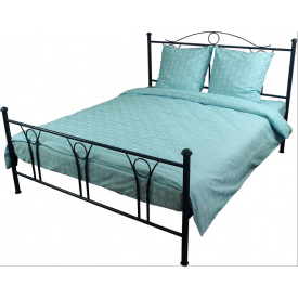 Комплект постельного белья Руно бязь Голубой двуспальный