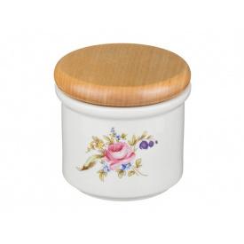 Банка для харчових продуктів Cesky porcelan dubi Мейсенський букет 9х10 см 606-552