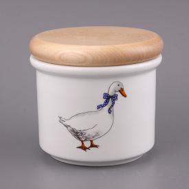 Банка для харчових продуктів Cesky porcelan dubi Гуси 9х10 см 606-520
