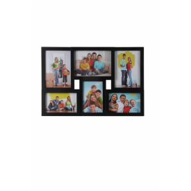 Мультирамка для фото Angel Gifts 6 в 1 чорна (BIN-1122960 (b))