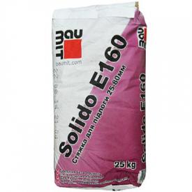 Смесь для устройства напольной стяжки Baumit Solido E 160 25-80 мм 25 кг