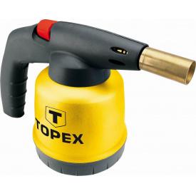 Газовая паяльная лампа TOPEX с картриджами 190 г с пьезоэлементом