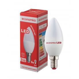 Светодиодная лампа Economka LED CN 6W E14 4200К