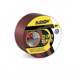 Покрівельна герметизуюча стрічка Alenor BF 100 мм 3 м червона