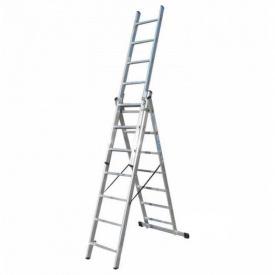 Лестница 3-х секционная раскладная ELKOP VHR T 3x7