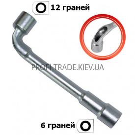 HT-1617 Ключ торцевий з отвором L-подібний 17 мм