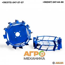 Грунтозацепы к мотоблоку универсальные 380х160 мм (квадрат 10х10)