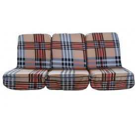 Комплект подушок поролонові для гойдалки садової 005