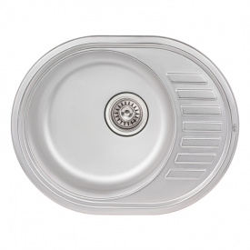 Кухонная мойка Qtap 5745 Satin 0,8 мм (QT5745SAT08) SD00040985