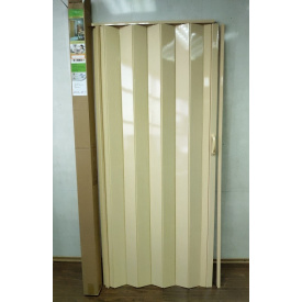 Дверь гармошка глухая 1000х2030х6мм. Сосна №2