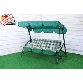 Качель садовая Элегия раскладная без москитной сетки 2140x1250x1780 мм 300 кг