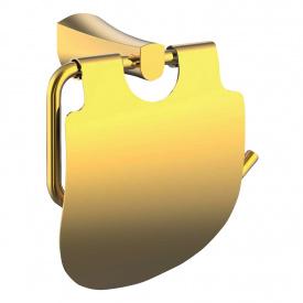 CUTHNA zlato держатель для туалетной бумаги IMPRESE 140280 zlato