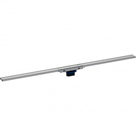 Душевой дренажный канал Geberit CleanLine60 для тонких полов полированная нержавеющая сталь длина 30-90 см 154.456.KS.1
