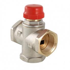 """Триходовий термостатичний змішувальний клапан 1"""" Valtec VT.MR01.N.0603"""