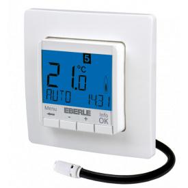 Терморегулятор Eberle FIT 3F программируемый для теплых полов (с датчиками пола и воздуха)