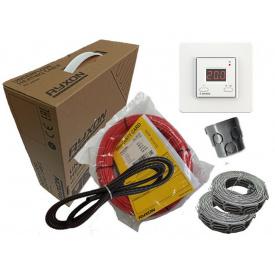 Тонкий двухжильный нагревательный кабель Ryxon HC-20 под плитку (4.5 м.кв) 900 вт Серия Terneo ST