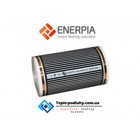Cовременнаянагревательная плёнка отрезная для подогрева пола Enerpia 0,50 х 0,50 м