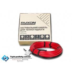 Тонкий под плитку двухжильный нагревательный кабель теплый пол RYXON HC-20 12 м2