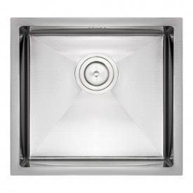Кухонная мойка Qtap D4843 2.7/1.0 мм Satin (QTD484310)