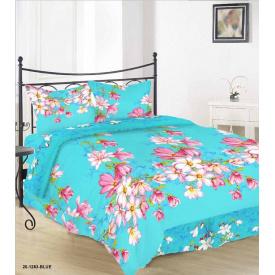 Комплект постельного белья Руно бязь 20-1283 Blue двуспальный