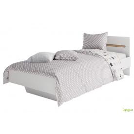 Ліжко 90 Бянко Світ Меблів з матрацом Pocket Spring та каркасом-ламелями