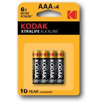 Батарейки KODAK XTRALIFE LR03 по 4 шт в блістері
